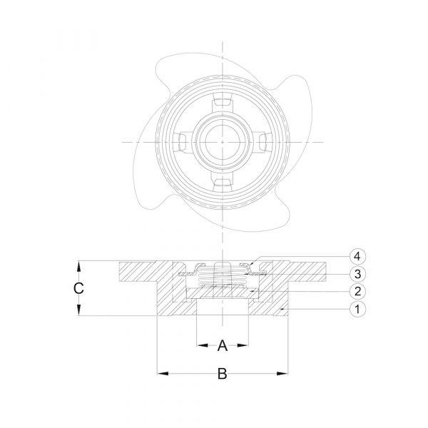 LI-CV-01 Stainless Steel Disc Check Valve