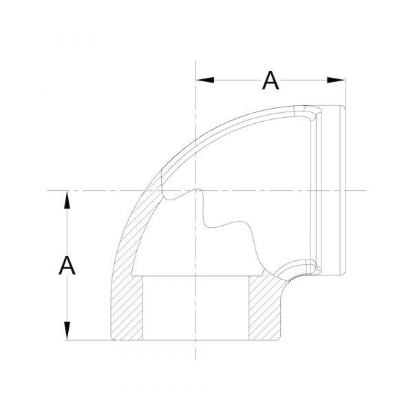LI-EW-01 90° Elbow