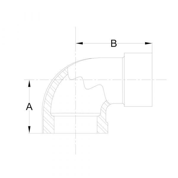 LI-MFE-01 Street Elbow